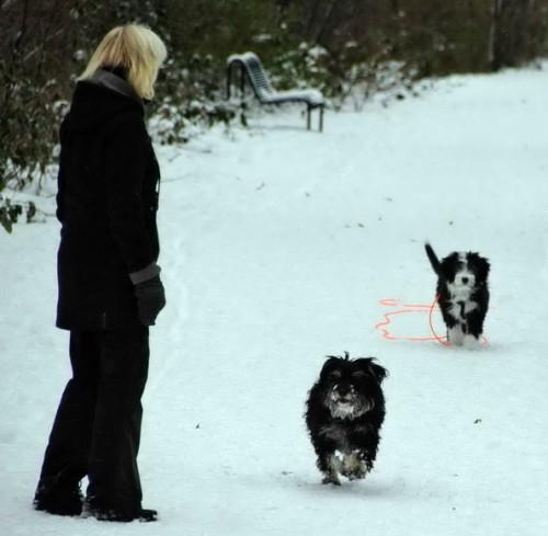 mit Lilly und Ilka