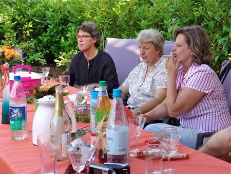 Heike, Gaby und Birgit