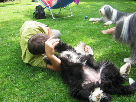 Zu Besuch beim Hundeflüsterer Michael