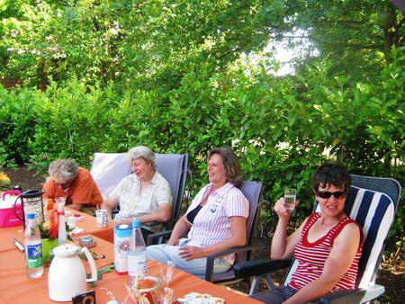 Marianne, Birgit, Gaby, Micha