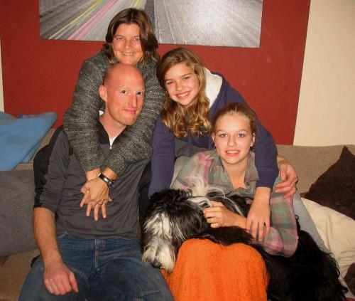Glückliche Familie mit Cappa!!!