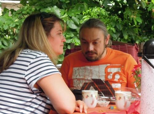Luxemburger Beardie-Eltern Jill und Alain!