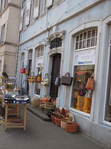 Schöne Körbchen in Wissembourg