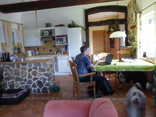 Franz und Gaby am PC