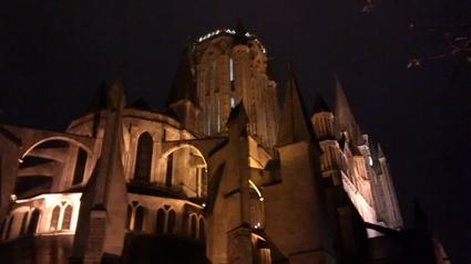 Da hat der liebe Gott wieder auf uns aufgepasst - Kathedrale von Coutances